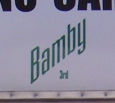 BAMBY 3rd